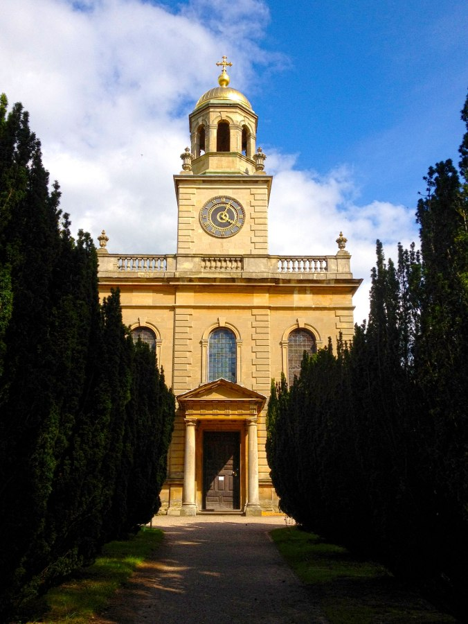 Church of St Michael, Witley Court in Worcestershire, England