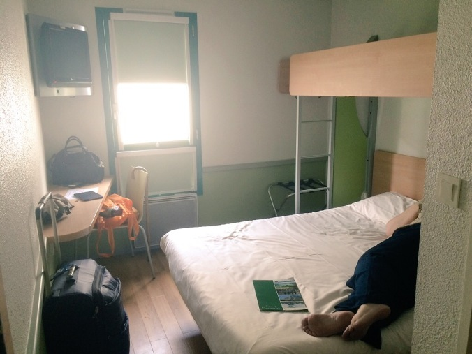 Our Bijou Hotel Room